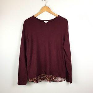 J.Jill layered blouse